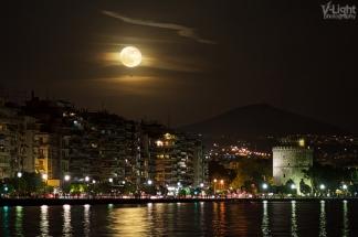 Super Moon Rising by V-Light