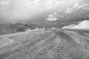 Landscape at the mining site of Gerakini, Greece   2012