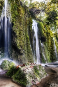 The Little Waterfall by V-Light