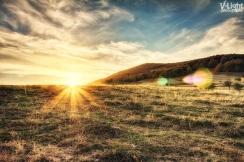Sunset at Nimfaio mountain, Greece | 26.10.2012