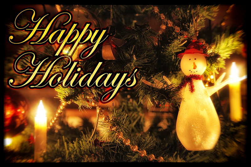 Happy Holidays V-Light