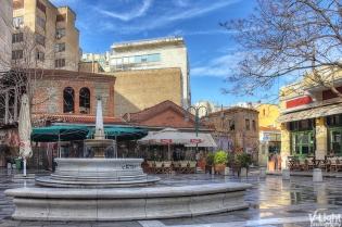 Katouni Square in Ladadika, Thessaloniki | 25.01.2014
