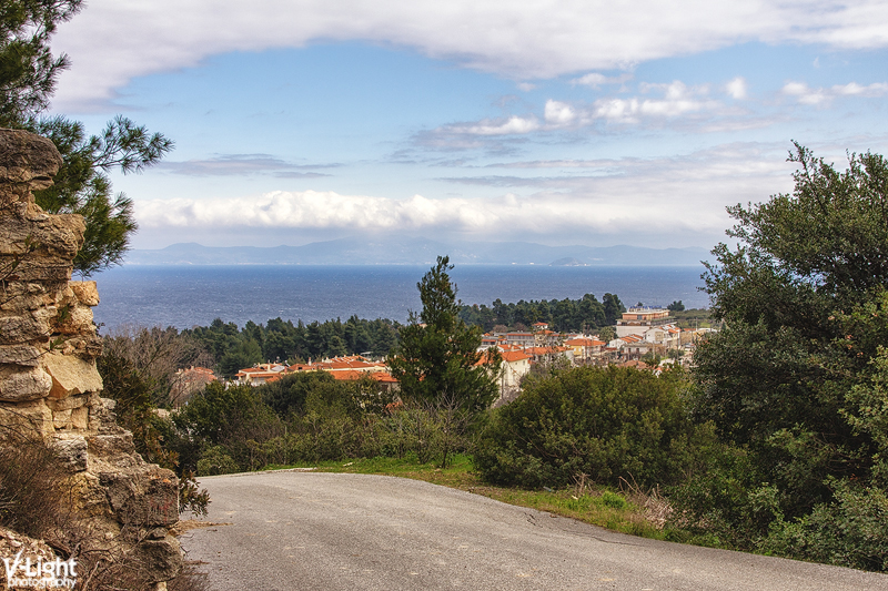 Kriopigi and the Toronean gulf by V-Light