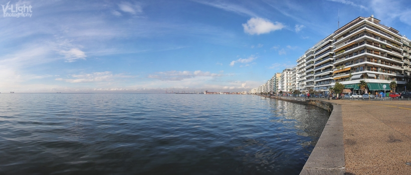 Sunny day in Thessaloniki by V-Light