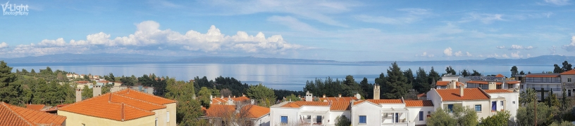 Kriopigi. View of the Toronean gulf.