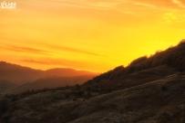 Fiery Sunset by V-Light