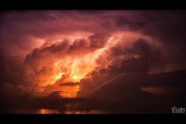 Birth of the Universe - A Thunderstorm by V-Light (4)
