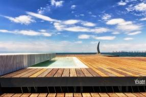 New Thessaloniki waterfront by V-Light