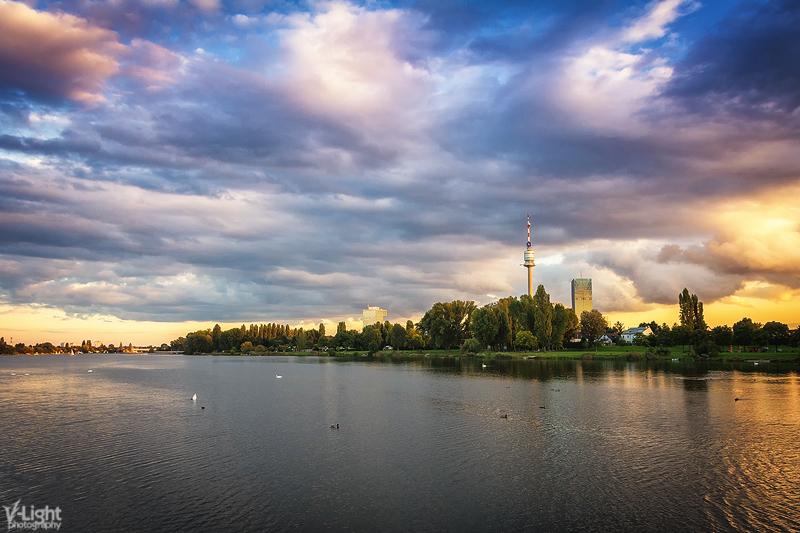 Donau Sunset by V-Light